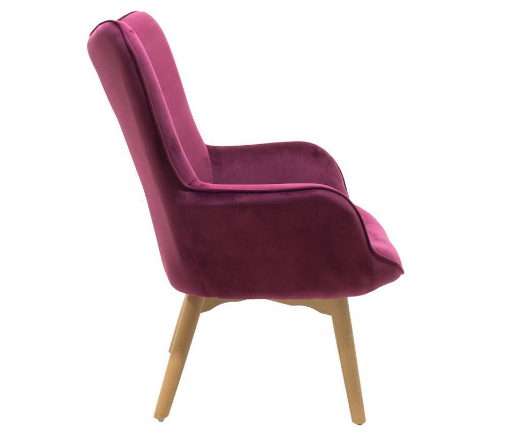 Fotelja Kido Velvet Crimson