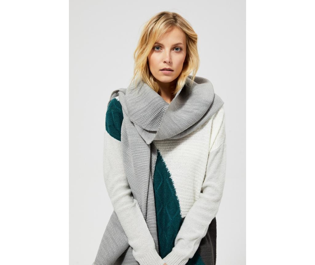 Ženska marama Melly Grey 65x200 cm