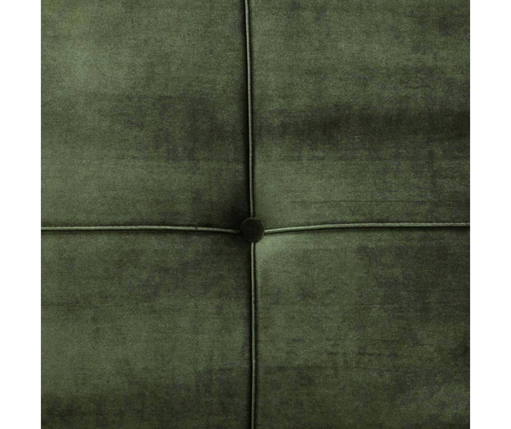 Perugia Green Kihúzható háromszemélyes kanapé