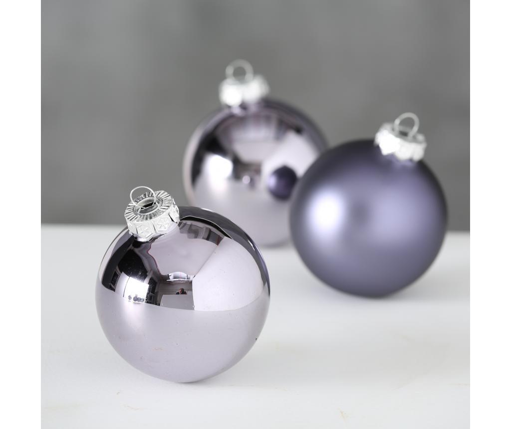Silver 6 db Karácsonyi dekoráció