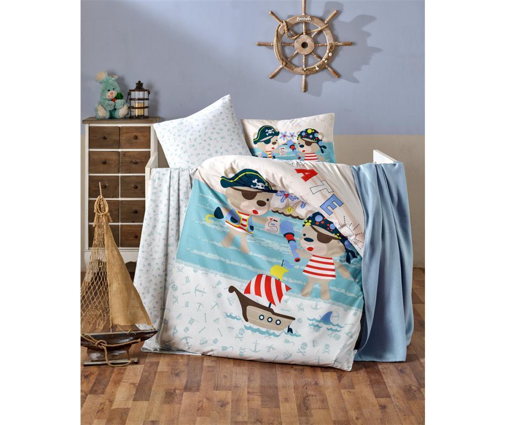 Posteljnina za otroško posteljico Pirates