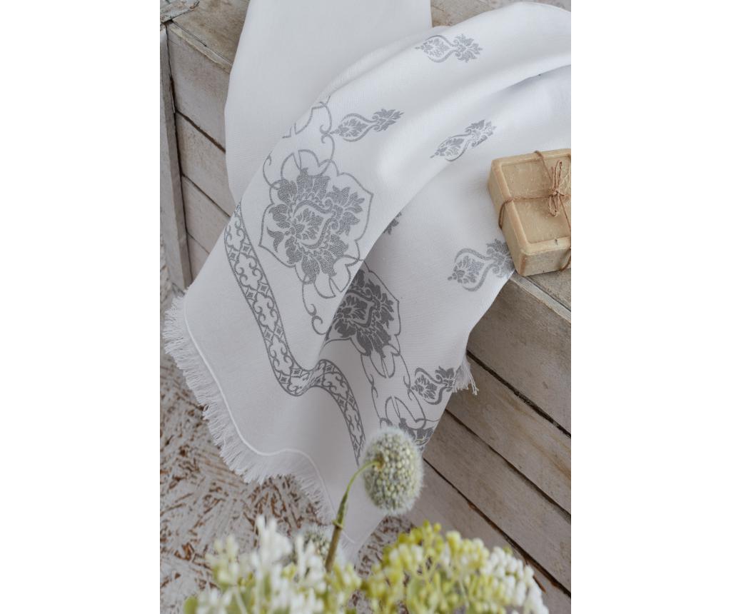 Set 2 kuhinjska ručnika Meyra White Grey 45x65 cm