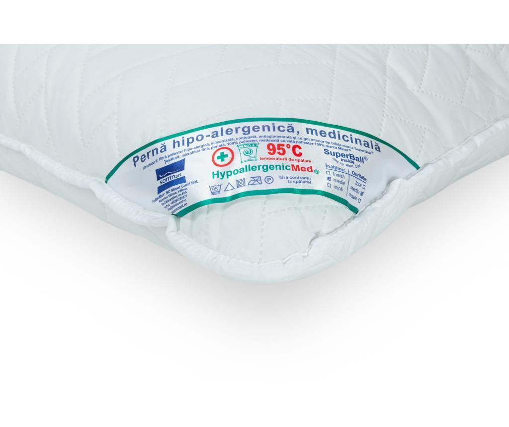 Set 4 prošivena jastuka HypoallergenicMed 70x70 cm