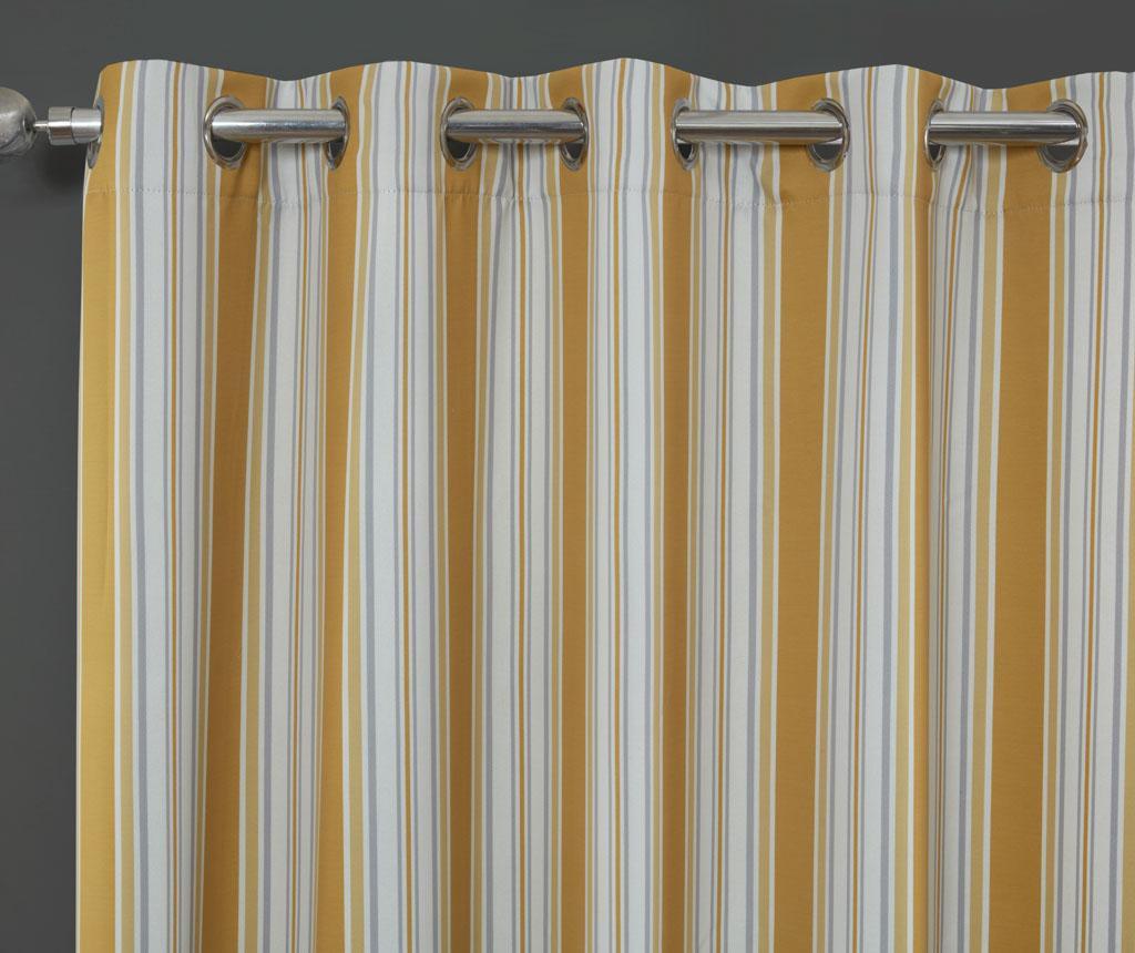 Brooklyn Yellow 2 db Függöny 229x229 cm