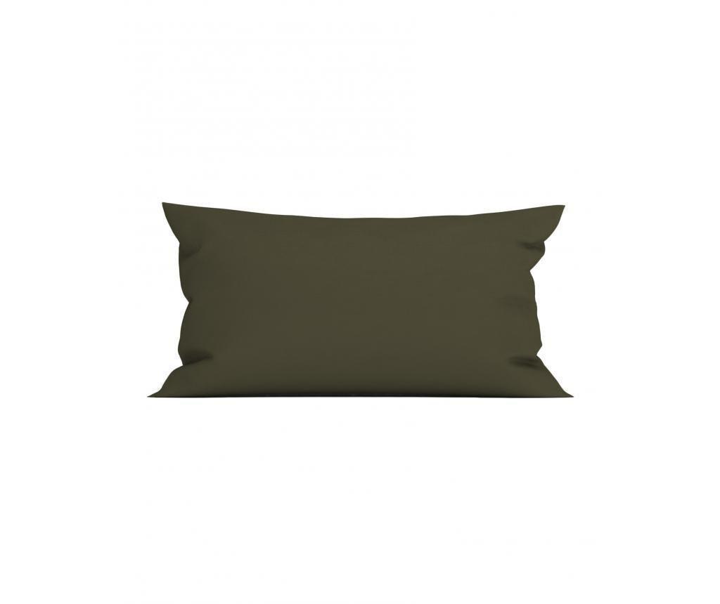 Fata de perna Perkal Olive 40x80 cm