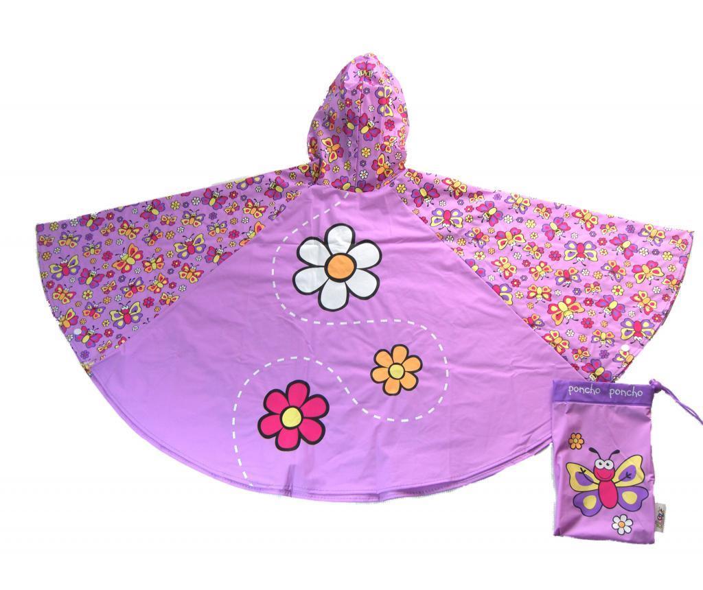 Poncho copii Butterfly 3-6 ani