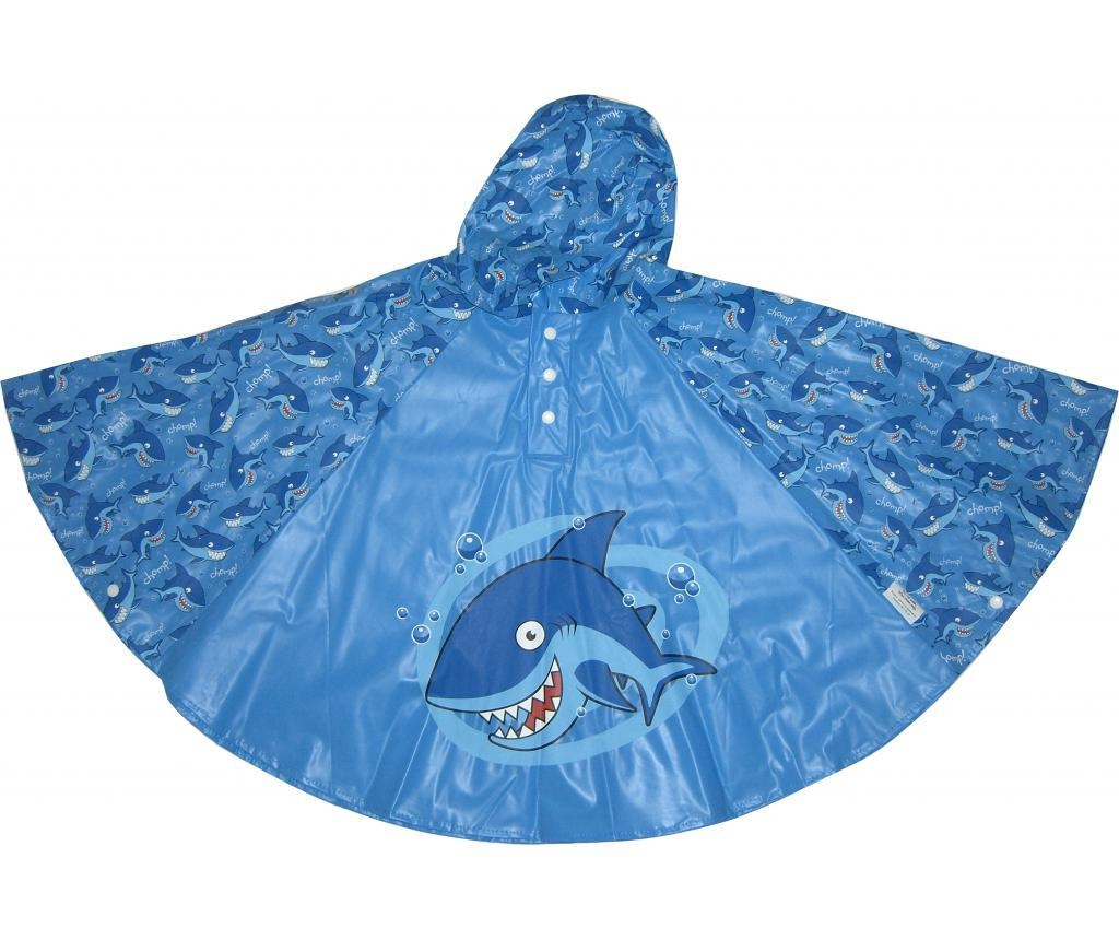 Poncho copii Shark 3-6 ani