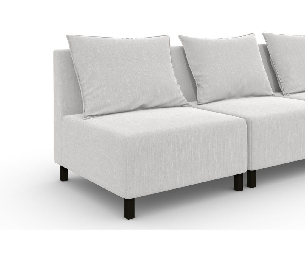 Canapea modulara 4 locuri Cristina Cream
