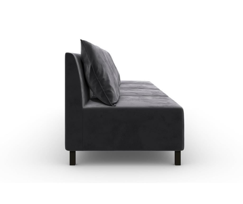 Canapea modulara 4 locuri Cristina Dark Grey