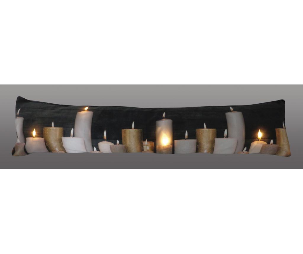Dekorační polštář s LED diodami 20x90 cm