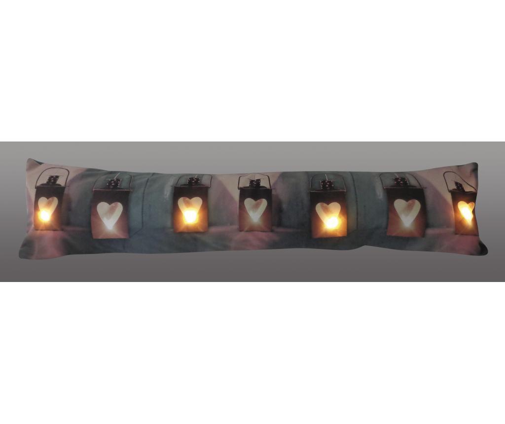 Perna decorativa cu LED 20x90 cm