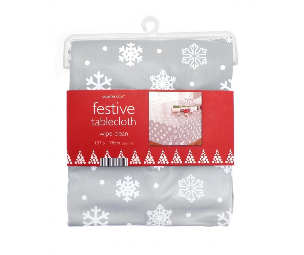 Namizni prt Snowflake Grey