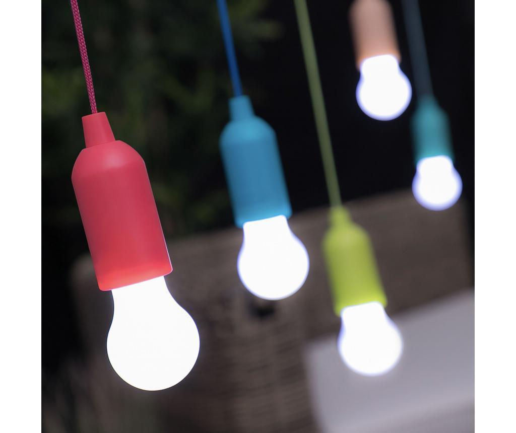 LED sijalka z vlečno vrvico
