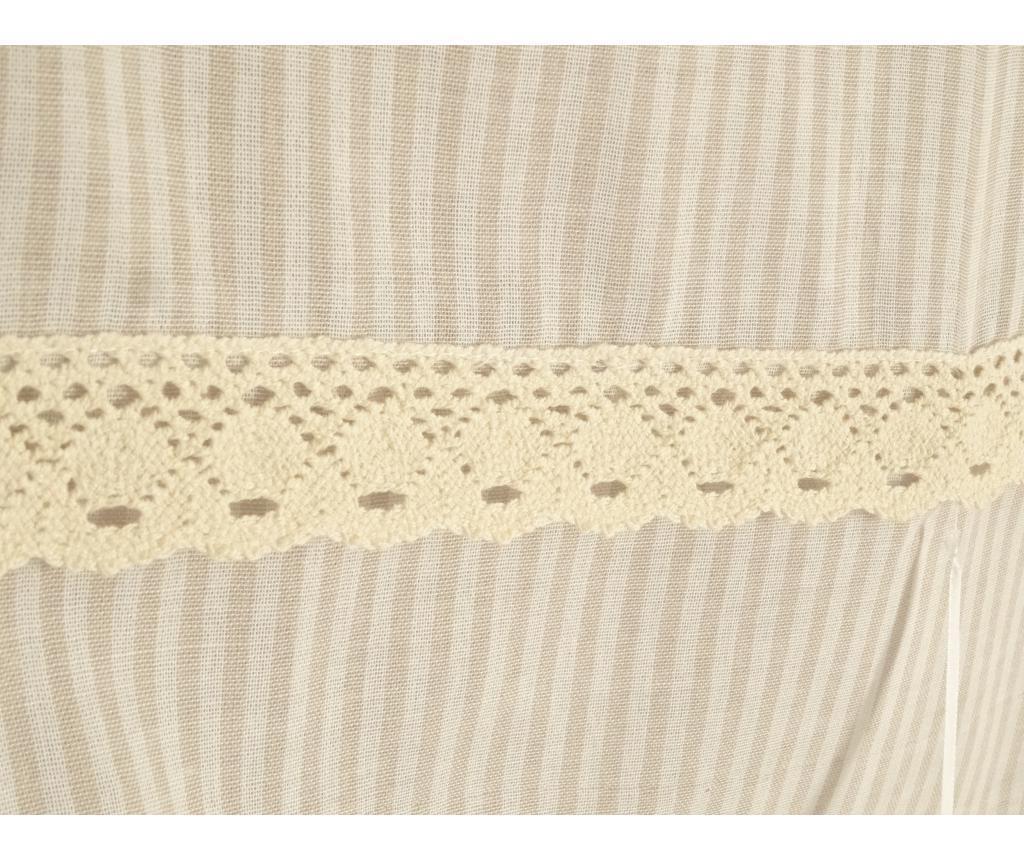 Set 2 draperii 45x160 cm