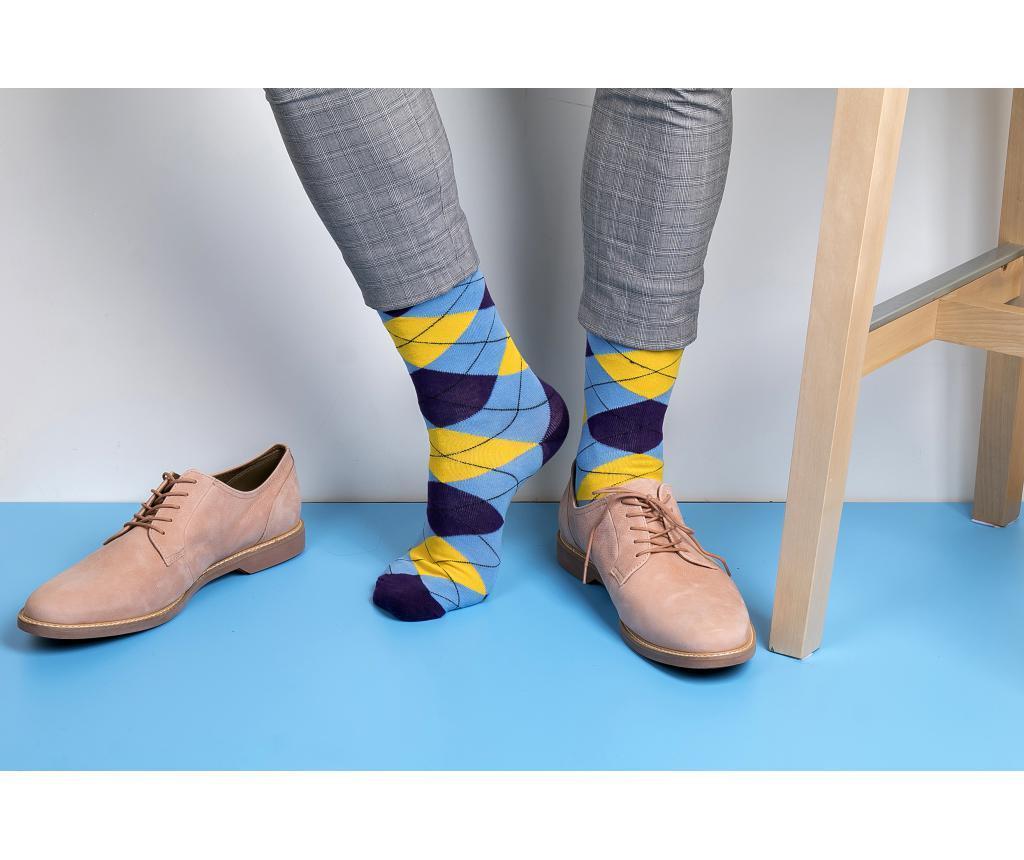 Sada 10 párov ponožiek unisex Kent 37-43