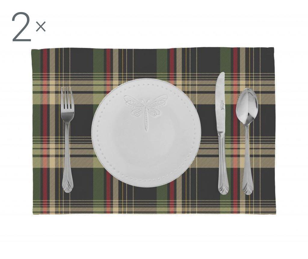 2 db tányéralátét 33x45 cm