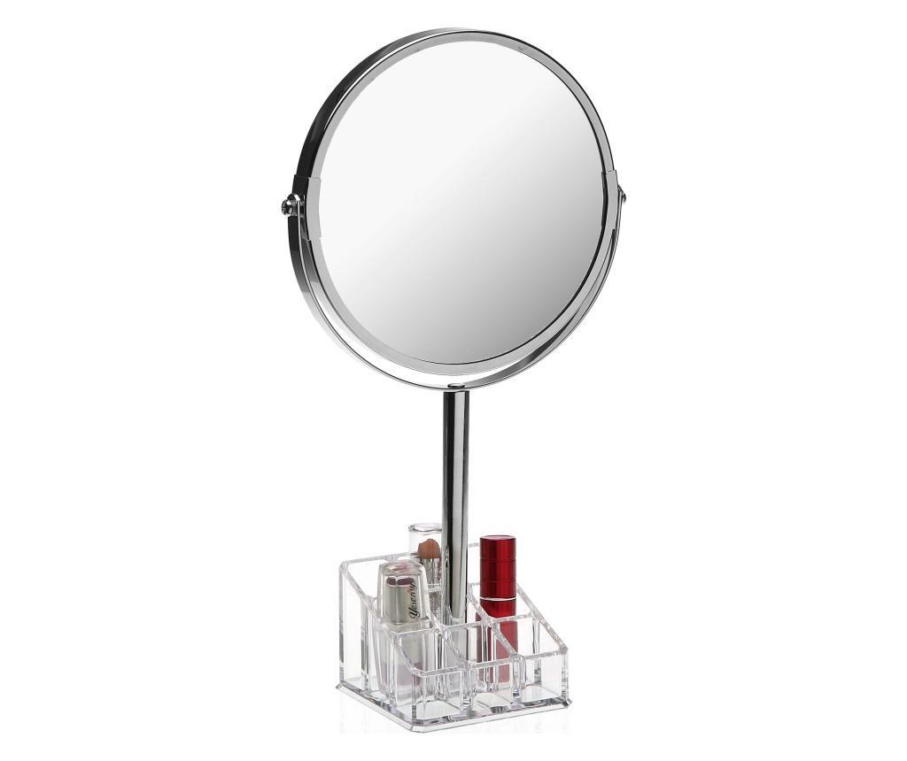Oglinda cosmetica cu suport