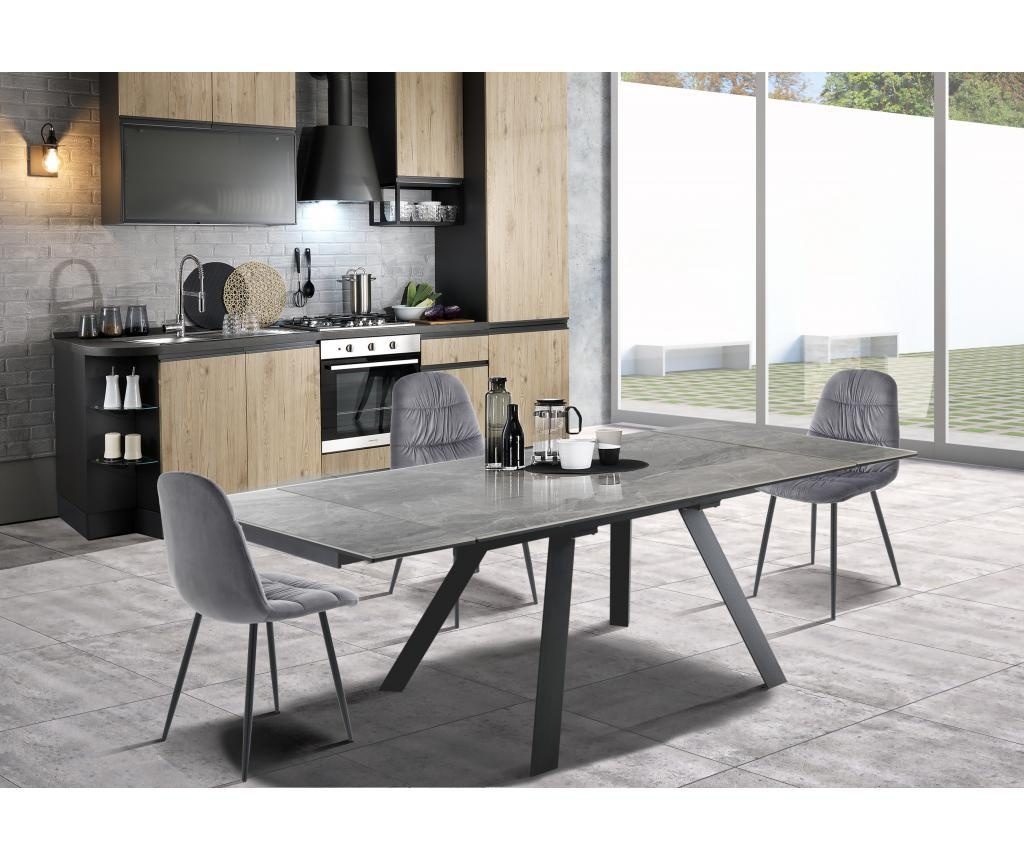 Talent Dark Marble Kihúzható asztal