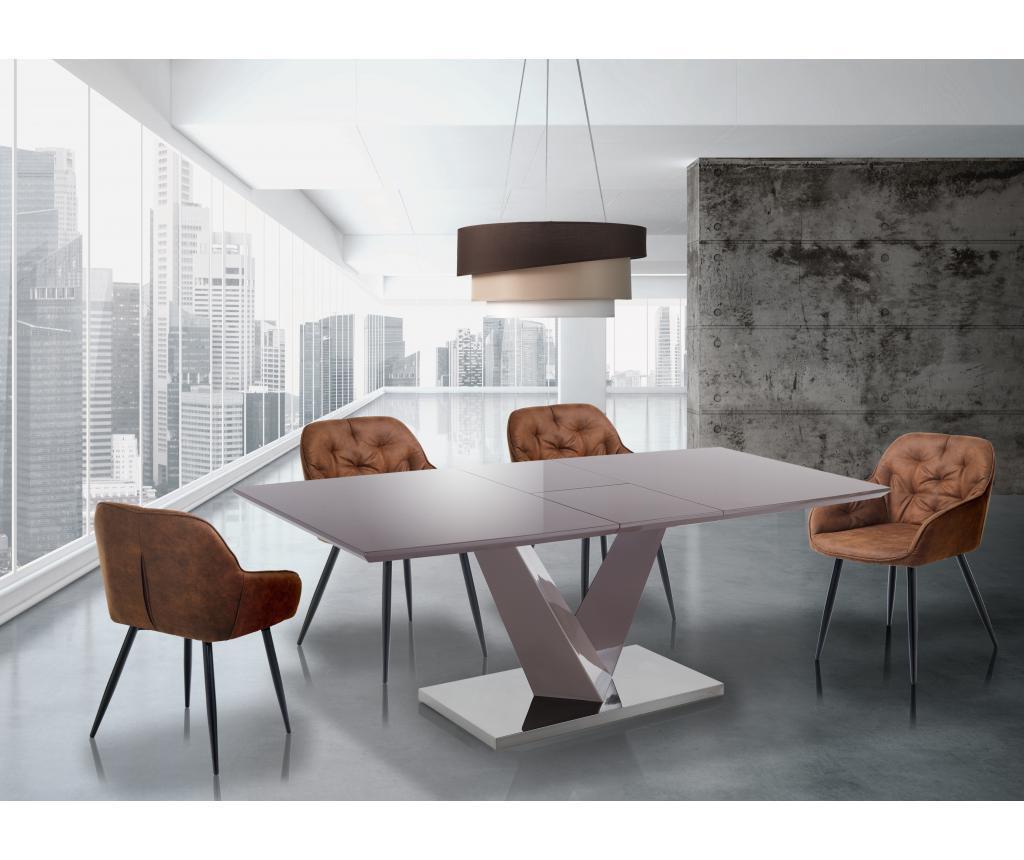 Valy Taupe Kihúzható asztal