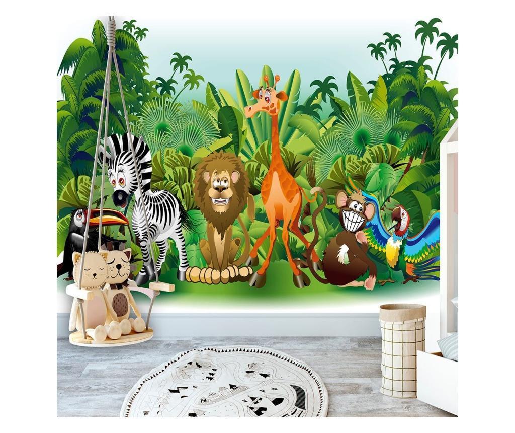 Jungle Animals Fotótapéta 140x200 cm