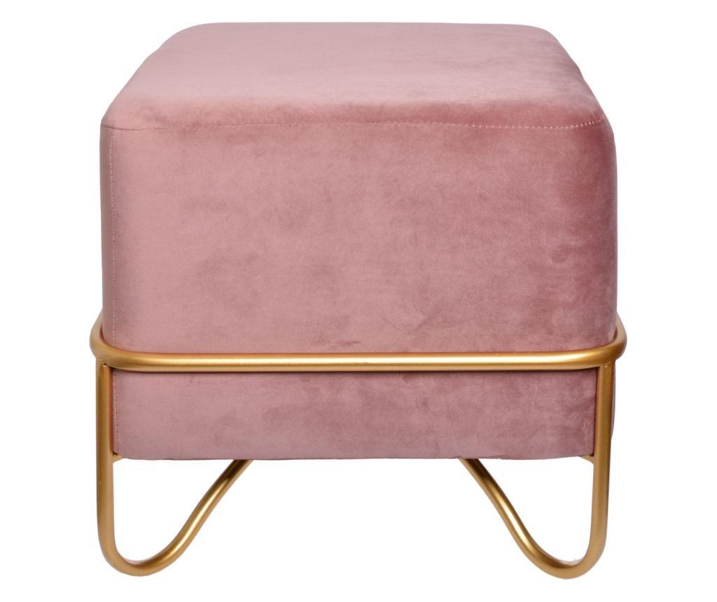 Taboret Velorage Pink