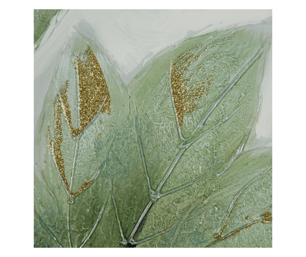 Tablou Leaves 80x80 cm
