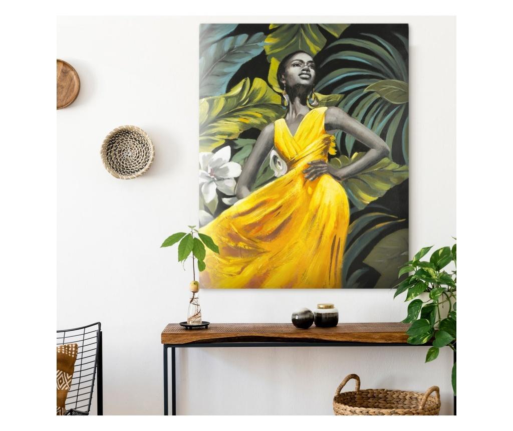 Πίνακας Yellow Dress 80x100 cm