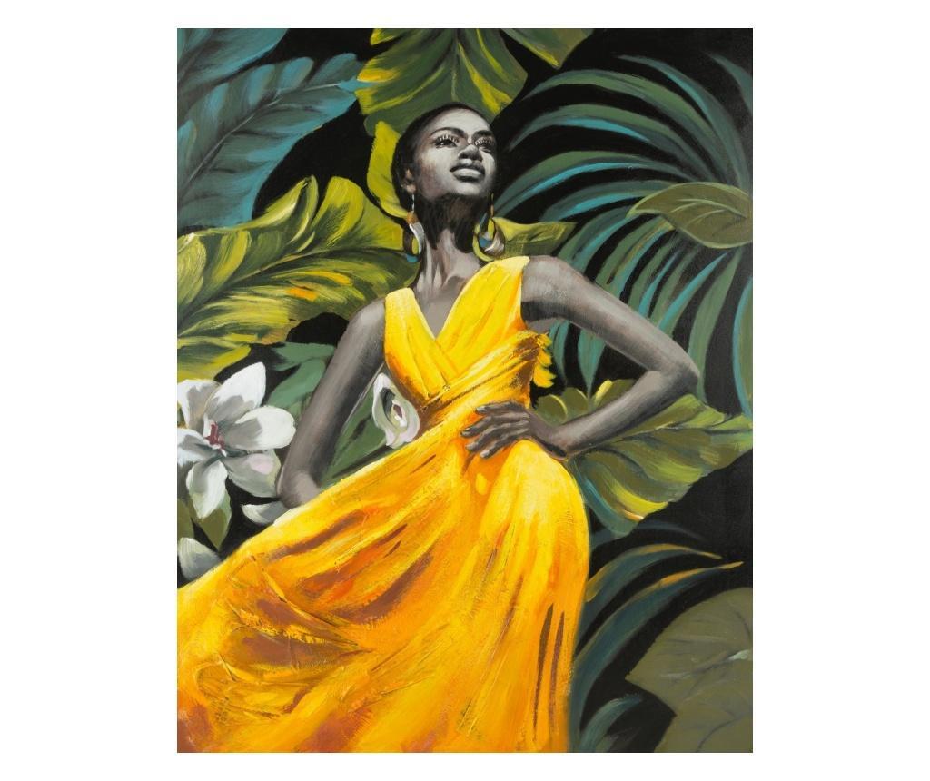 Yellow Dress Kép 80x100 cm