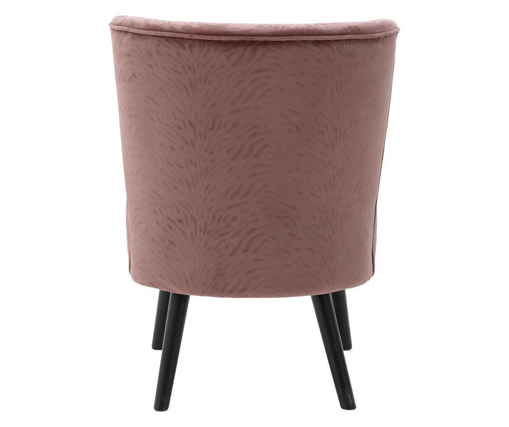 Stolica Velvet Pink