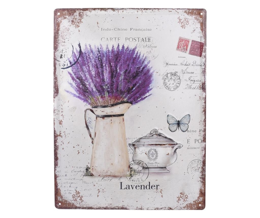 Lavender Fali dekoráció