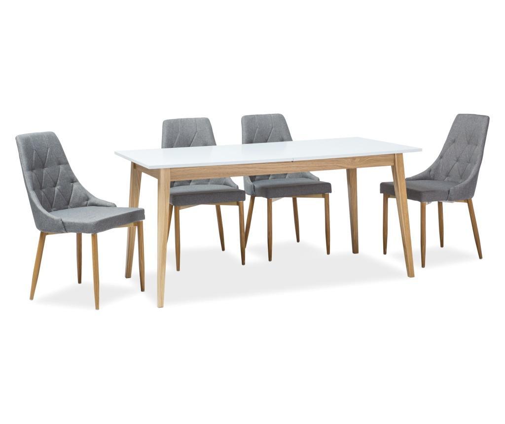 Cesar Kinyitható asztal 120 cm