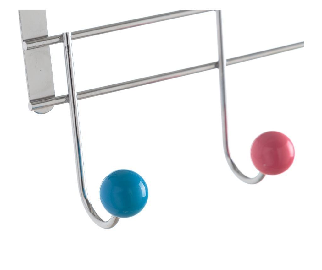 Vješalica za vrata Five Multicolour