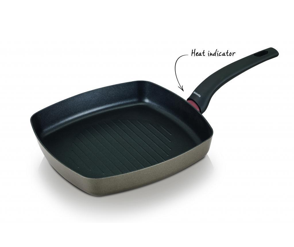 Tigaie grill Heat Pearl 26x26 cm