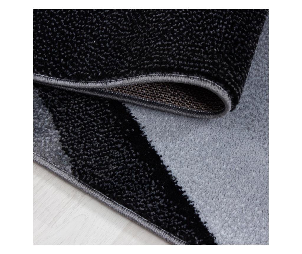 Plus Black Szőnyeg 160x230 cm