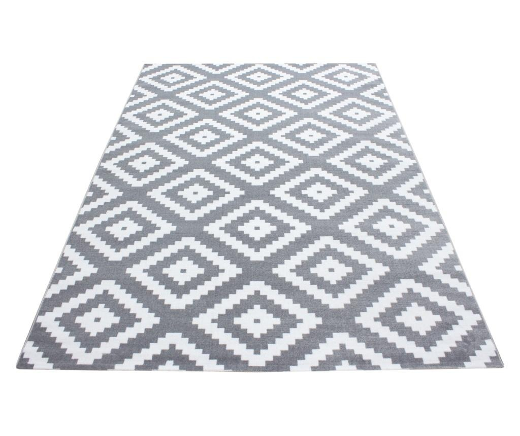 Tepih Plus Grey 200x290 cm