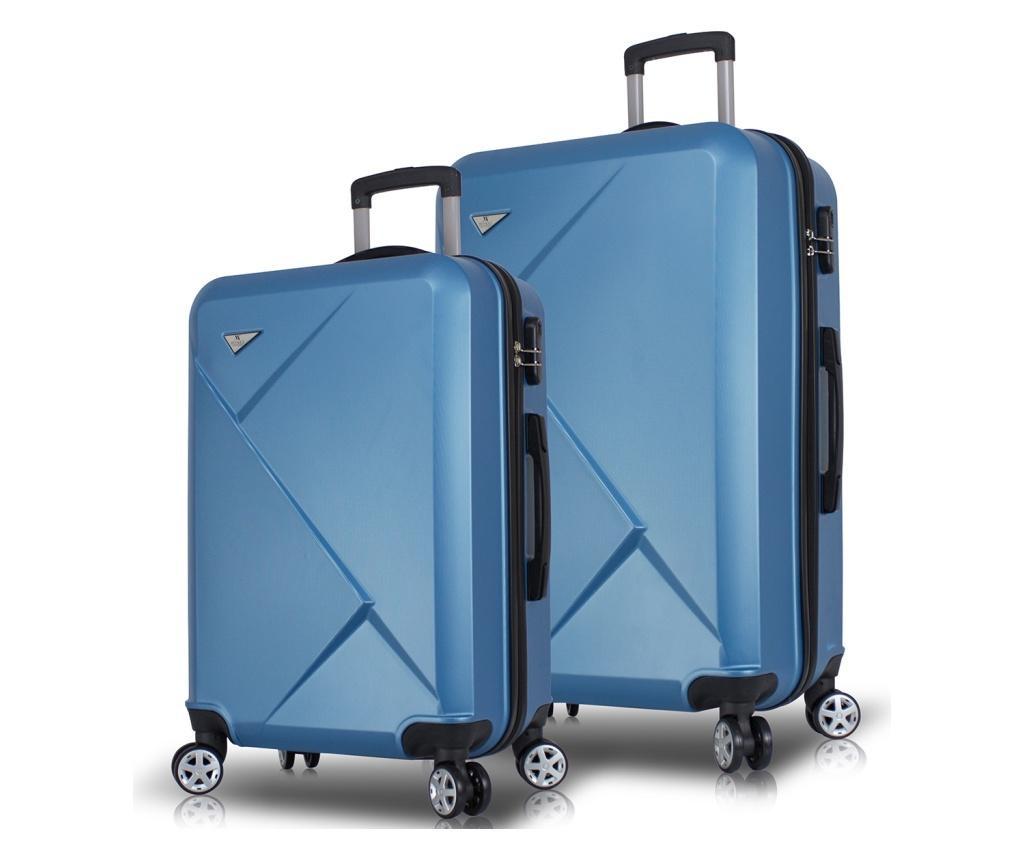 Set 2 trolere Diamond Blue