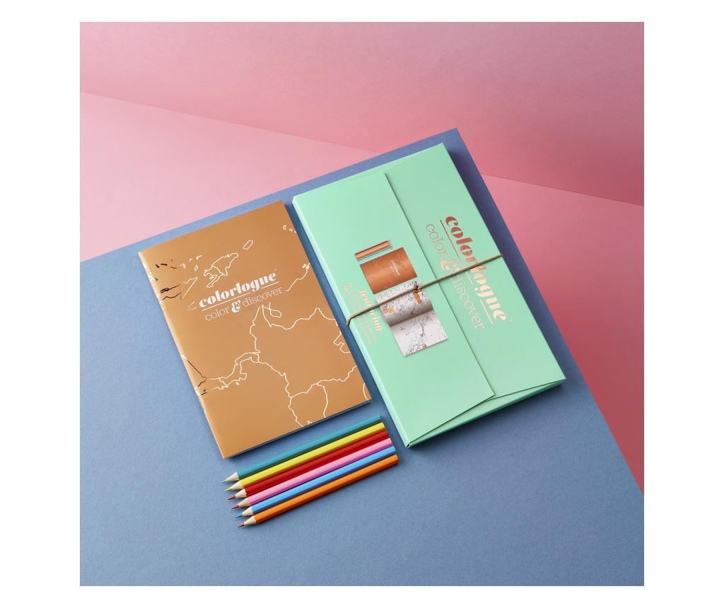 Set de calatorie pentru colorat Colorlogue