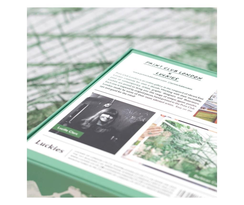 500 piese de puzzle Barbican Conservatory