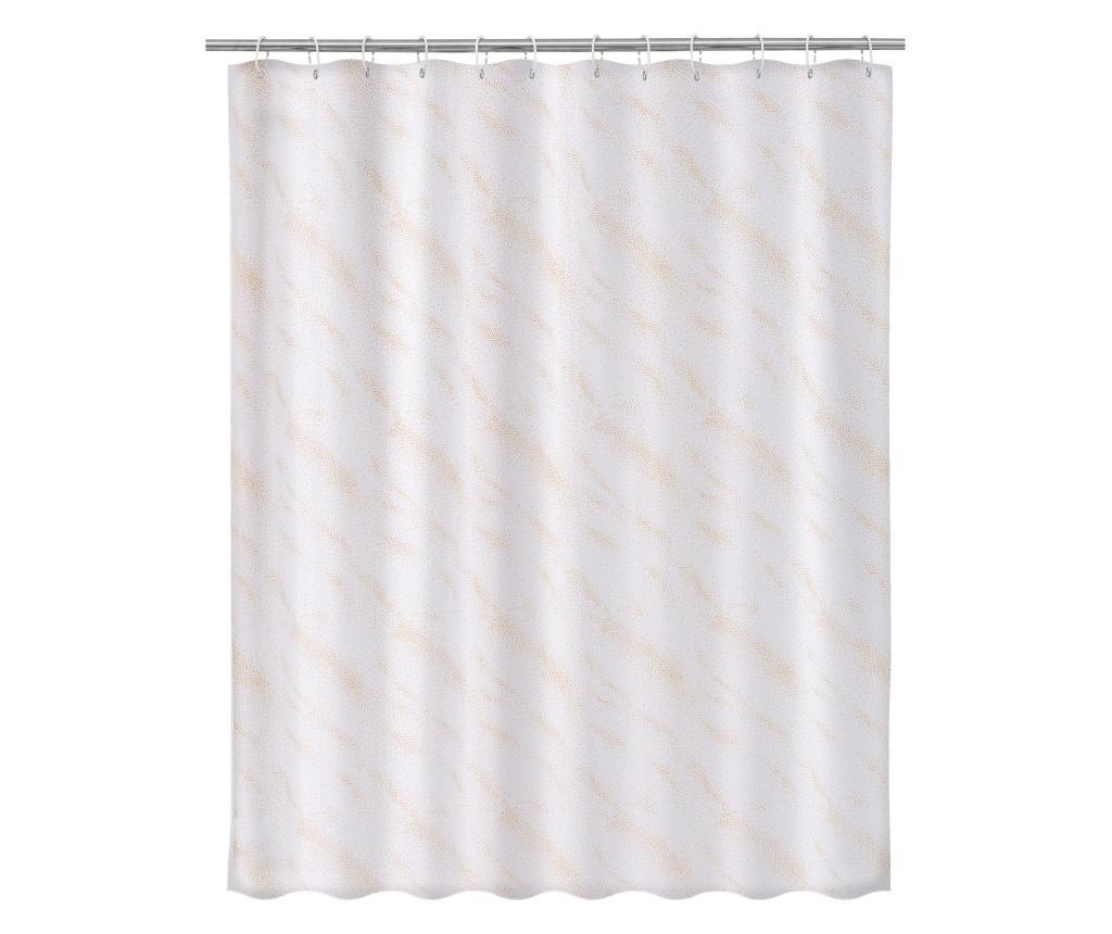 Zasłona prysznicowa Elegance Gold 180x200 cm