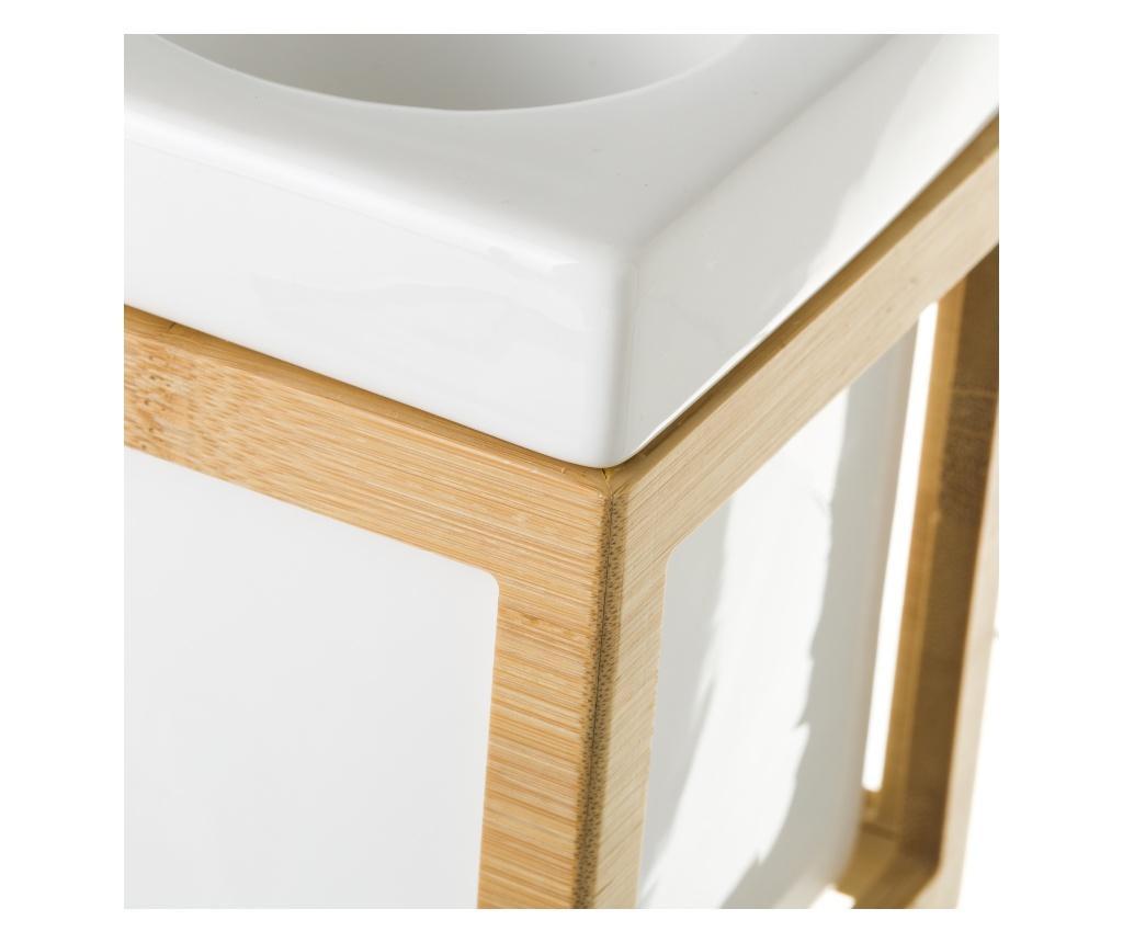 Bamboo WC-Kefe tartóval