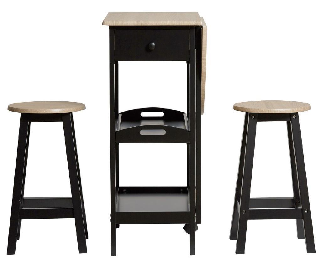 Set miza in 2 stoli Auri