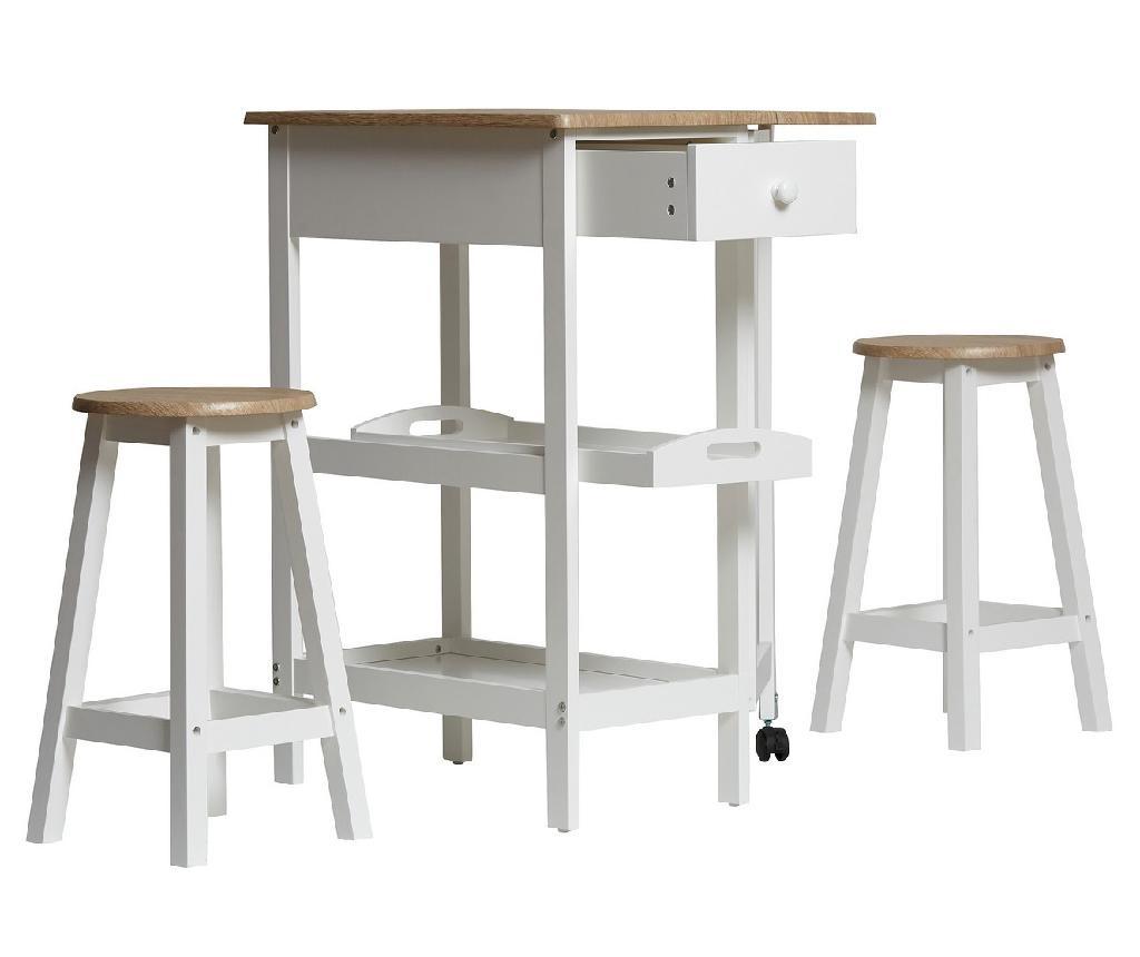 Set - miza in 2 stola Auri