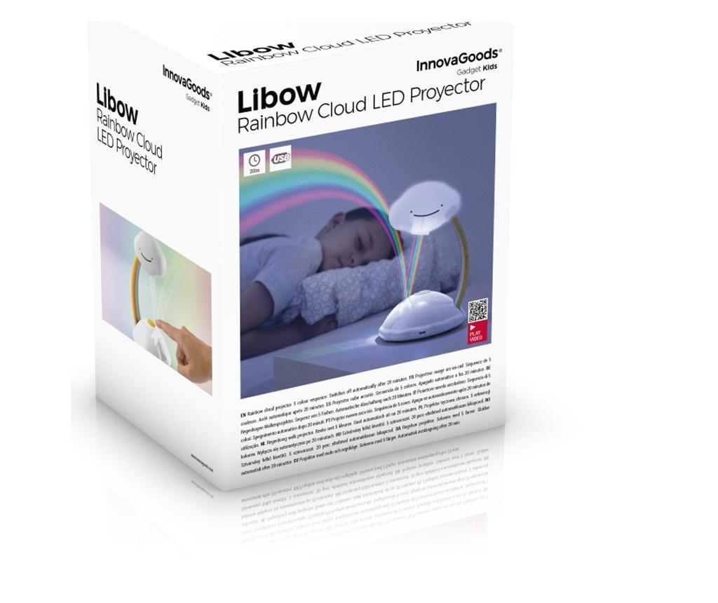 Lampa de veghe cu proiector Rainbow