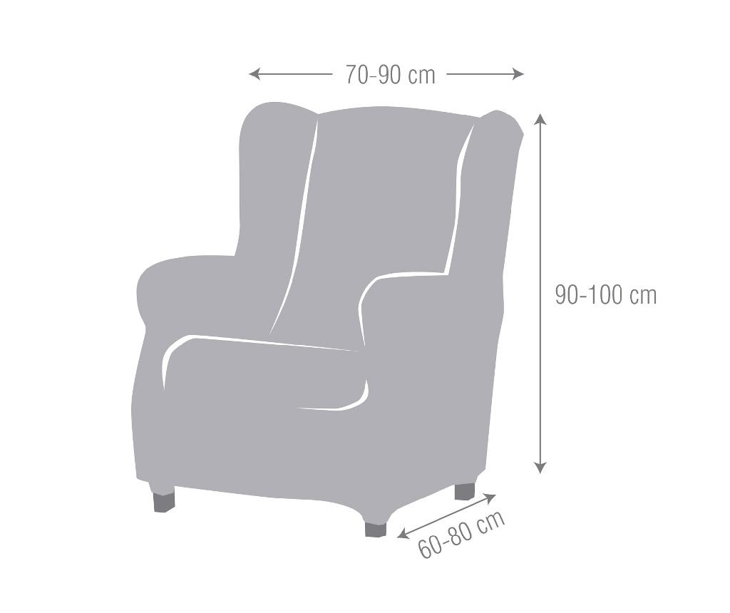 Ulises Grey Elasztikus huzat fotelre