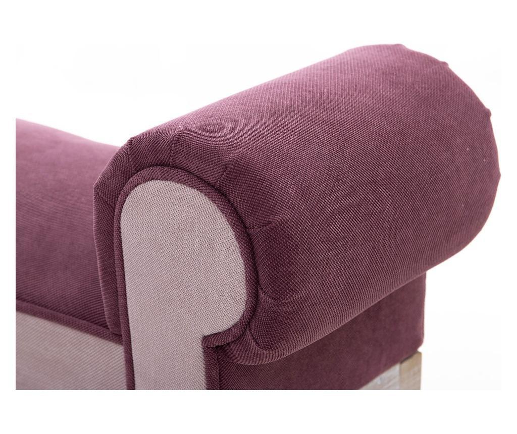 Bancheta Elfrida Dark Pink