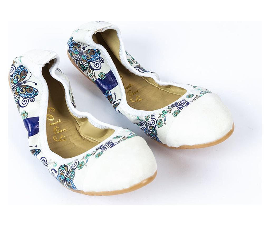 Foldy Multicolor Összecsukható lapos cipő hordtáskával 36