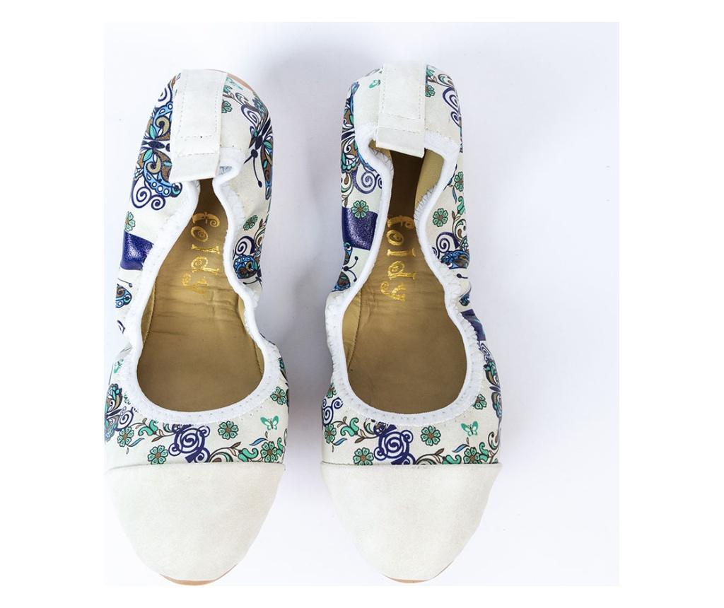 Foldy Multicolor Összecsukható lapos cipő hordtáskával 38