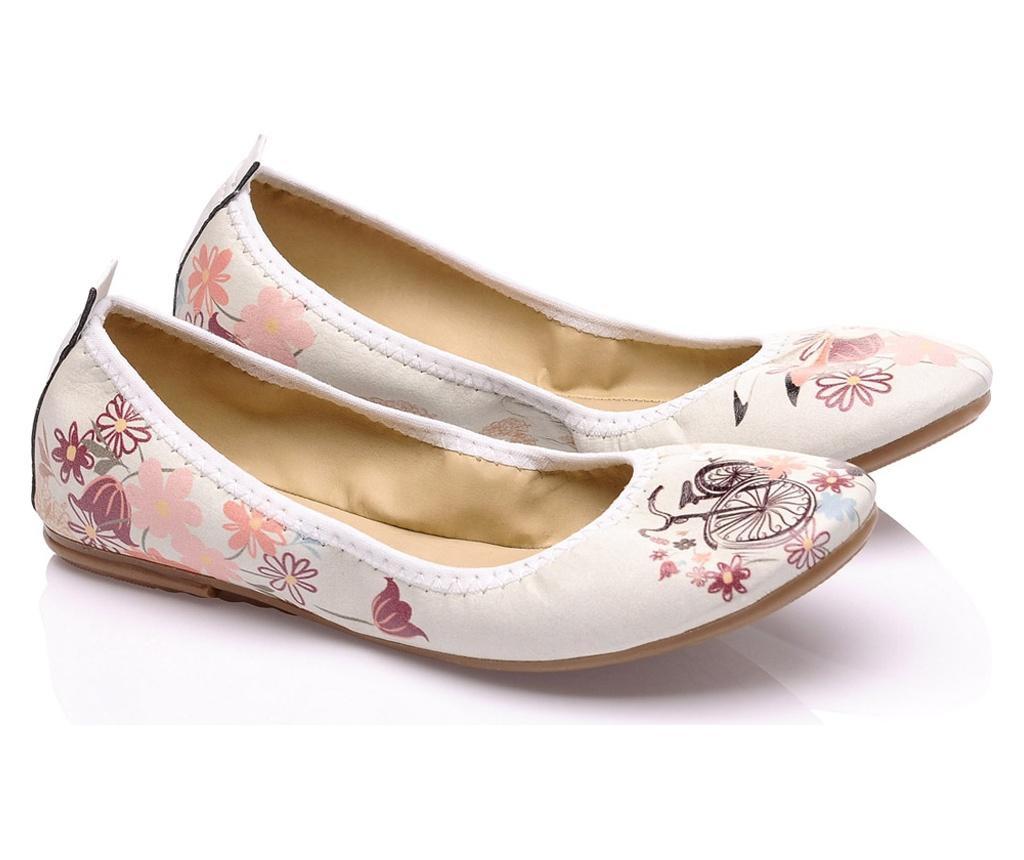 Foldy Multicolor Összecsukható lapos cipő hordtáskával 40