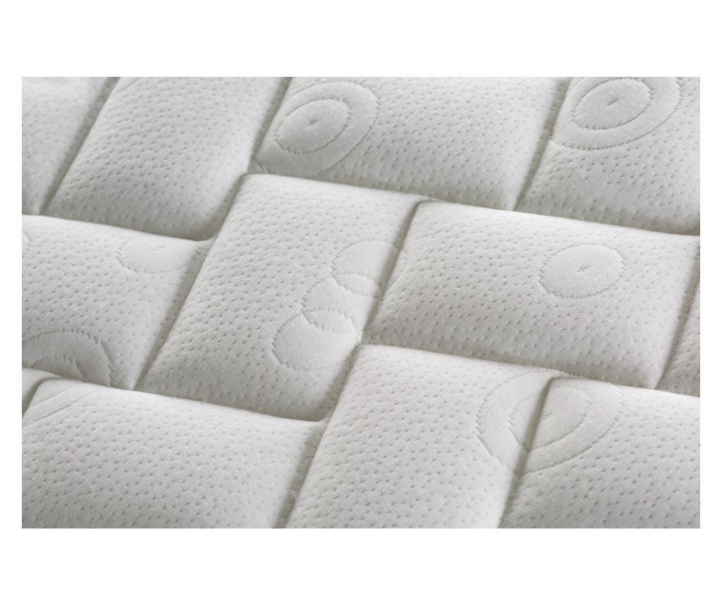 Комплект матрак, 2 основи за легло и табла за легло Opale 180x200 см