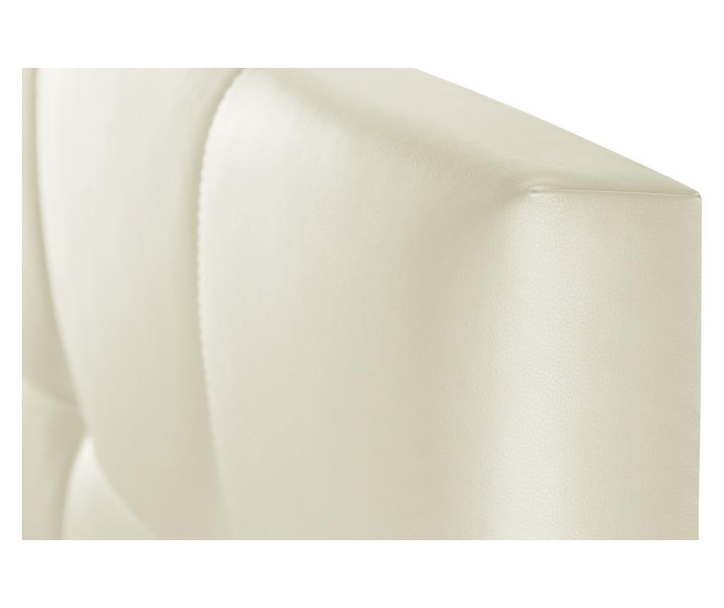 Tablie de pat Facette Cream 90x118 cm